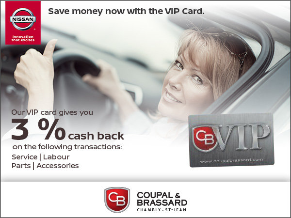 Save Now with our VIP Card!