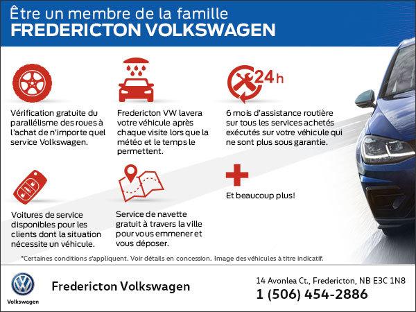 Être un membre de la famille Fredericton Volkswagen