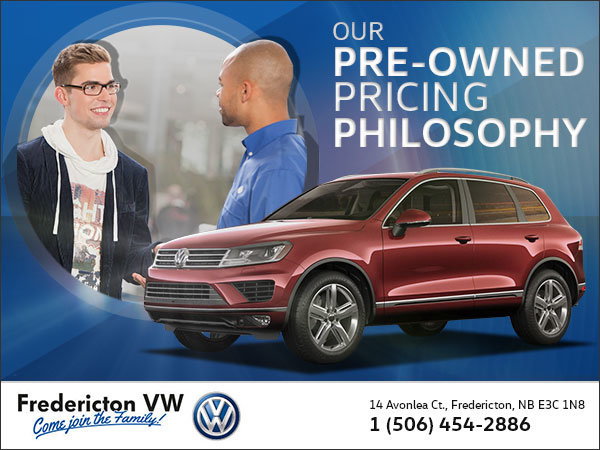 Our Pre-Owned Pricing Philosophy