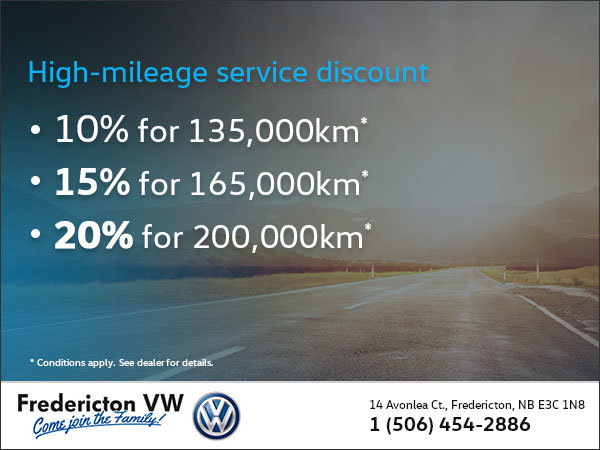 Service discount