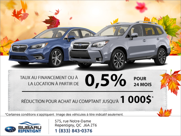 Événement mensuel chez Subaru