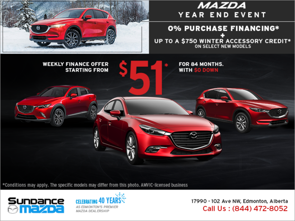 Mazda Year End Event