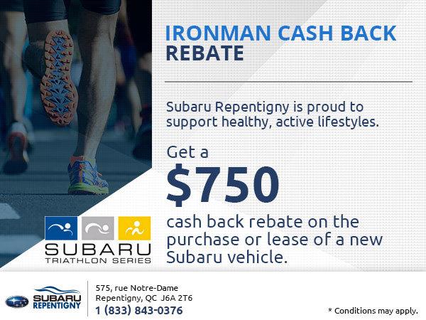 Ironman Cash Back Rebate