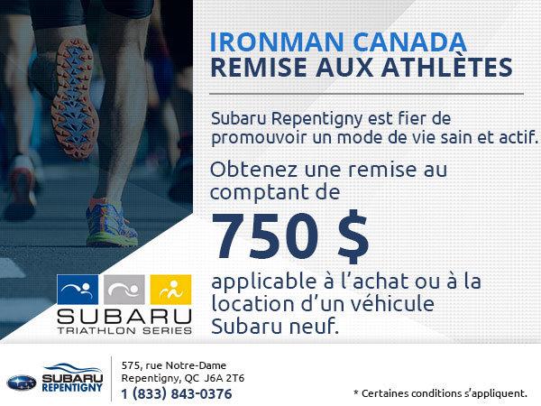 Ironman Canada Remise aux athlètes
