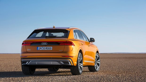 The audi q8: audi connect and driver assistance systems   audi of.