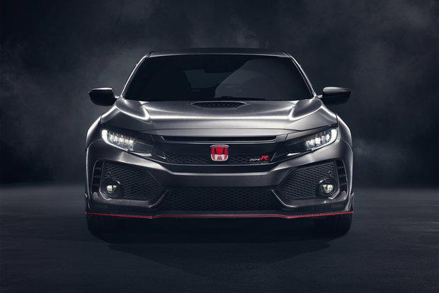 Une Honda Civic Type R spectaculaire présentée à Paris