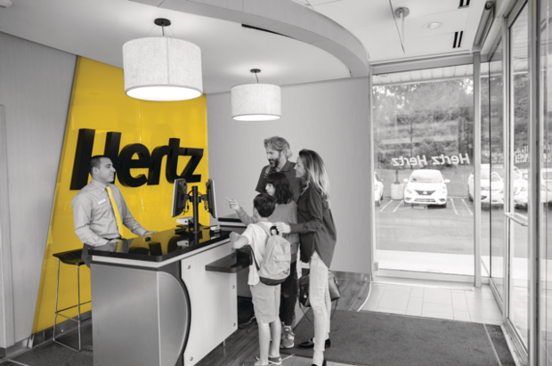 Hertz Car Rental available at North Bay Toyota