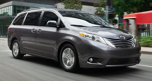2015 Toyota Sienna: It does it all