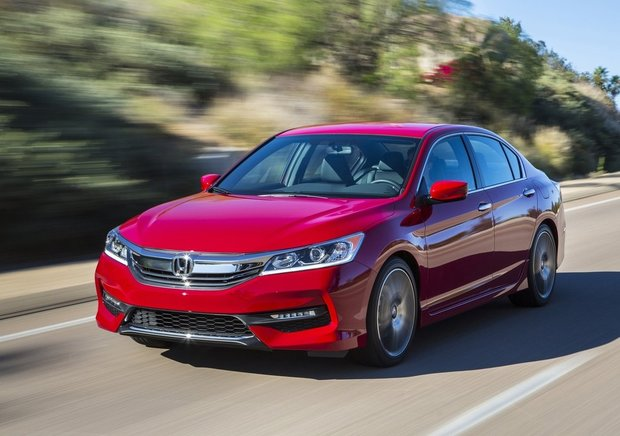 The 2016 Honda Accord Unveiled