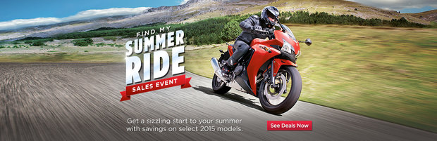 Sale!!! Find my Summer Ride Sales Event