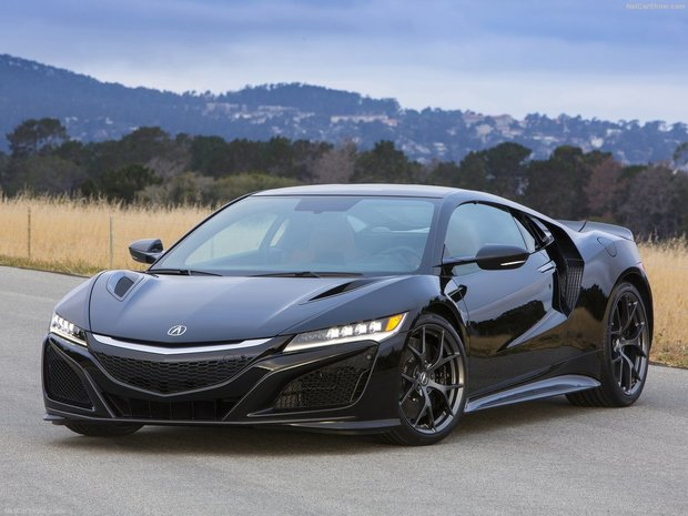 The new Acura NSX: three models and their features
