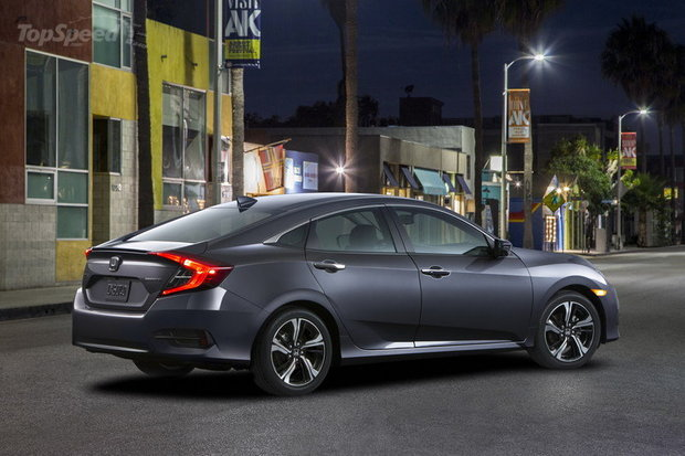 New Enhanced 2016 Honda Civic