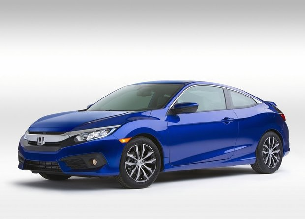 Honda unveils Civic Coupe in Los Angeles