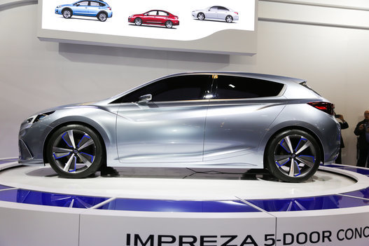 Subaru Impreza 5-Door Concept: The future