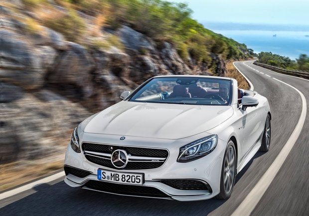 The 2017 Mercedes-AMG S 63 4MATIC Cabriolet presented at the Canadian International Auto Show