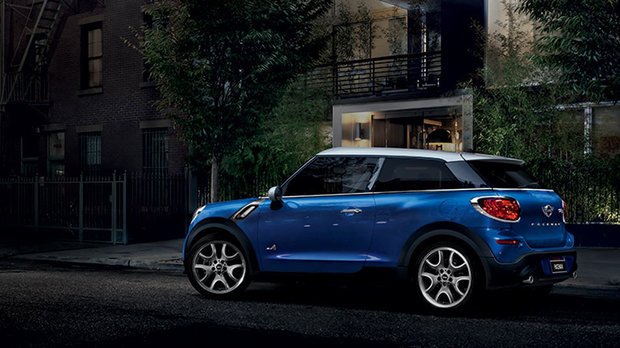 2016 MINI Paceman: a Sporty Coupe-Like MINI