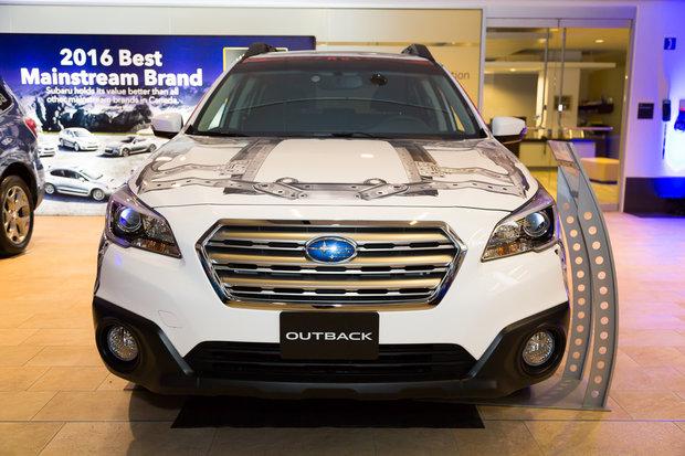 Salon de l'Auto d'Ottawa : Subaru Outback 2016