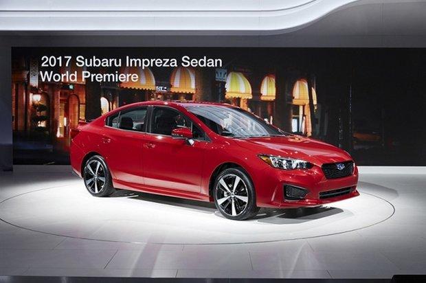 Subaru unveils new 2017 Impreza in New York