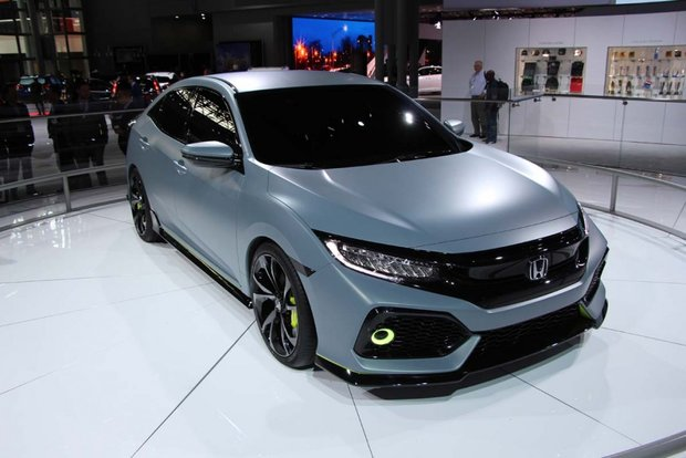 The Civic Hatchback Shown in New York, the Civic Coupe Arrives