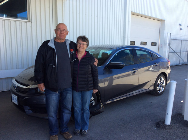Our 4th Civic from Brockville Honda.