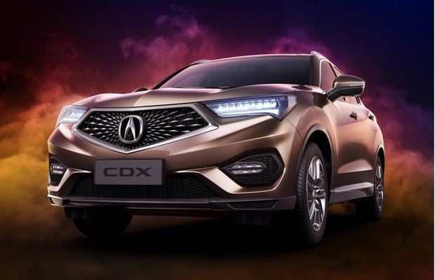 Acura Compact Crossover Unveiled in Beijing