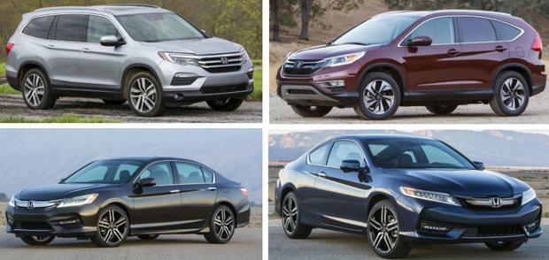 Honda Sales Increase 9.0 Percent in April