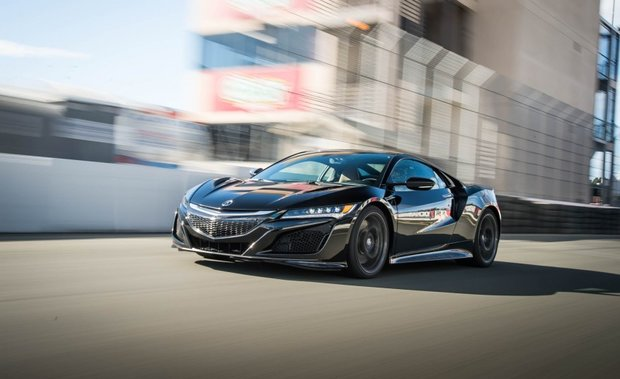 First Acura NSX Rolls Out of Production