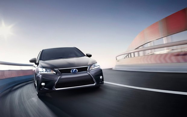 Lexus Goes Green for the AJAC Eco Run