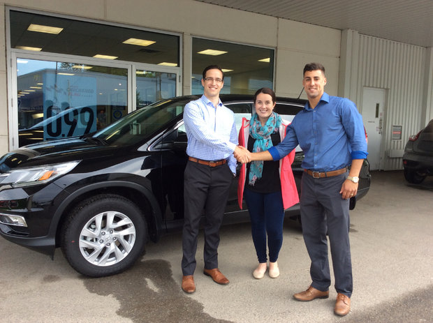 Very happy with our new CR-V !!!