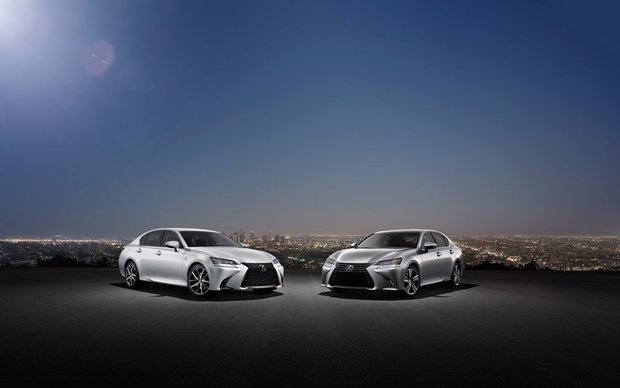 2016 Lexus GS and GS F - When Spirit Gets Some Extra Vitamin