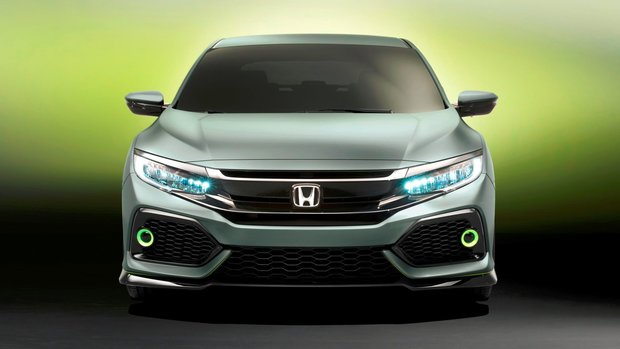 Honda Unveils New 2017 Honda Civic Hatchback Coming to Canada This Fall
