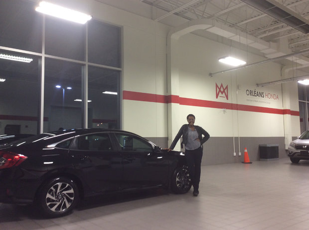 My new civic 2016! *Sales Department*