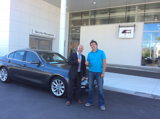 Another BMW, another great day! *Sales Department*