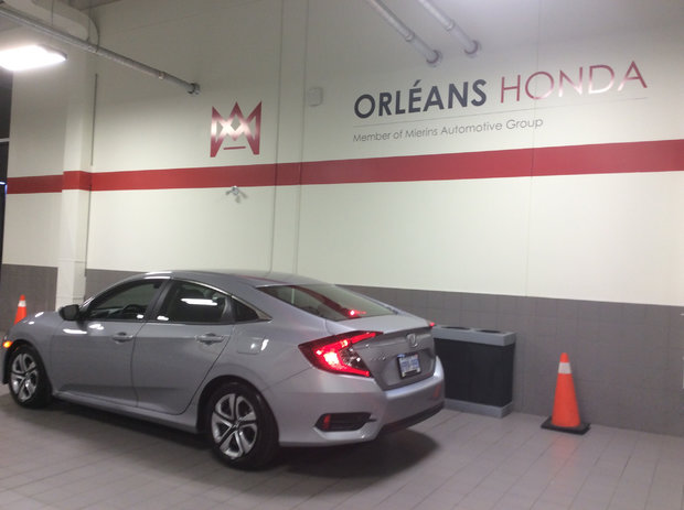 My new civic *Sales Department*