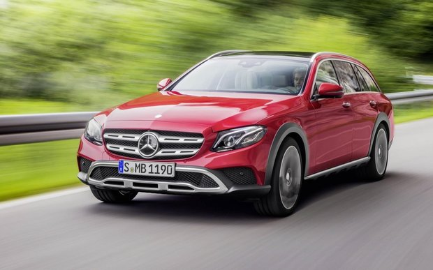 Mercedes-Benz E-Class All-Terrain: rugged luxury