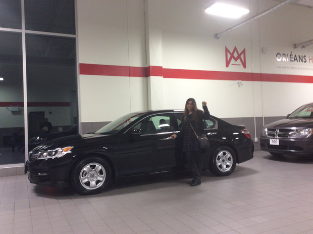 My new Accord! *Sales Department*