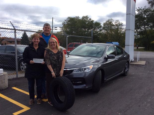 Honda Winter Tire Contest Winners!