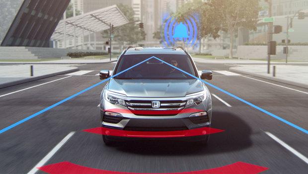 See the various Honda Sensing technologies in action