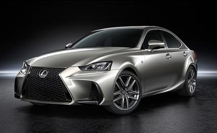 Here is the new 2017 Lexus IS