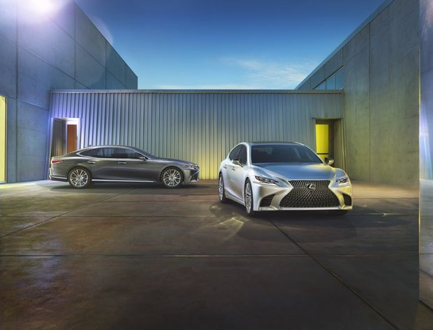 The 2018 Lexus LS bows at the North American International Auto Show