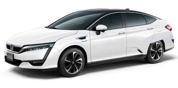 The all-new Honda Clarity plug-in hybrid set to launch in 2017