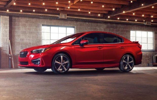 La Subaru Impreza 2017 reçoit la mention Premier Choix Sécurité + de l'IIHS