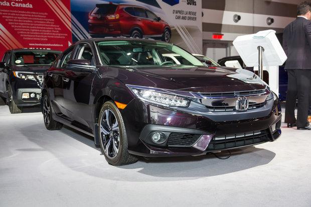 Salon de l'auto d'Ottawa : Honda Civic 2017