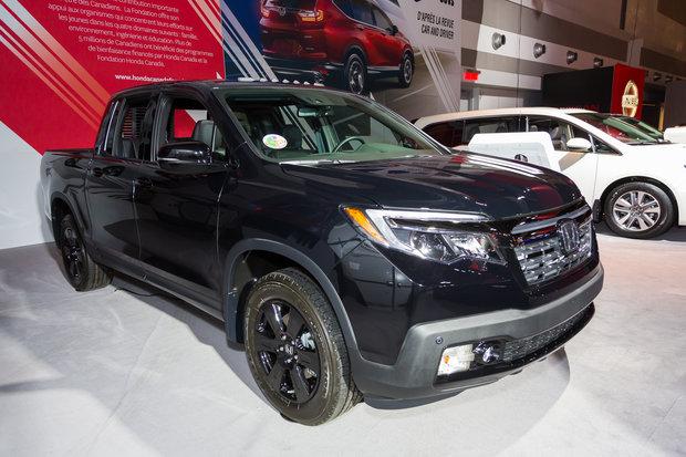 2017 Ottawa Auto Show: 2017 Honda Ridgeline