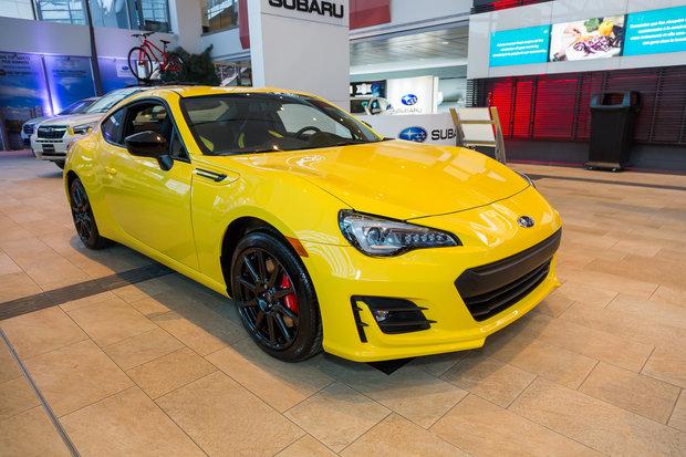 Salon de l'auto d'Ottawa 2017 : Subaru BRZ 2017 Édition Inazuma