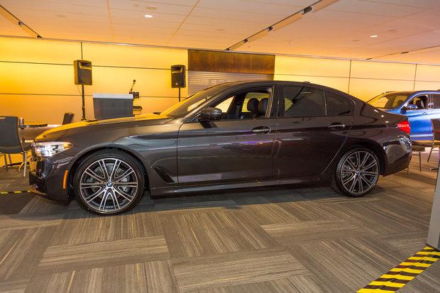 Salon de l'auto d'Ottawa 2017 : BMW Série 5 2017