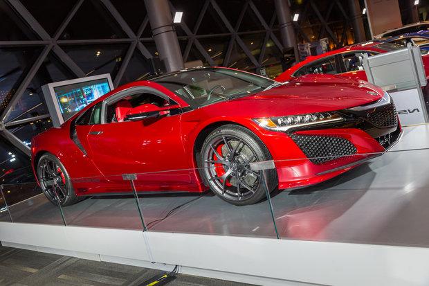 Salon de l'auto d'Ottawa 2017 : Acura NSX 2017