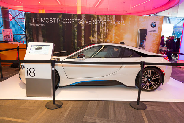 Salon de l'auto d'Ottawa 2017 : BMW i8