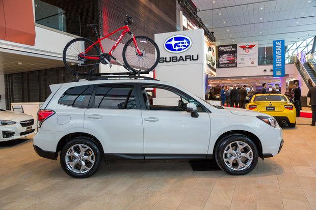 Salon de l'auto d'Ottawa 2017 : Subaru Forester 2017