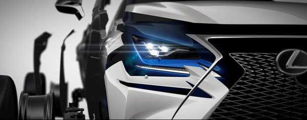All-new Lexus NX set to be unveiled in Shanghai